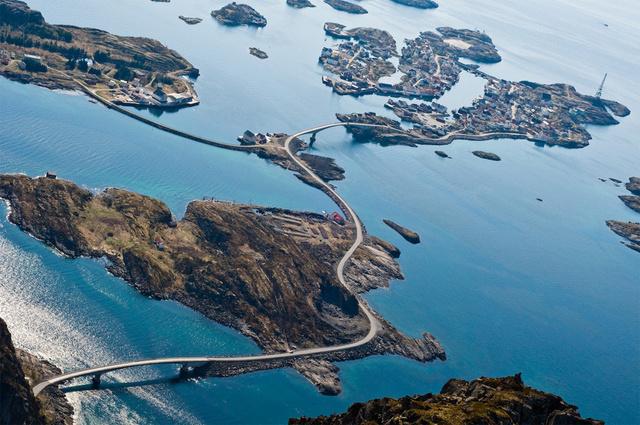 atlantic ocean road scenery
