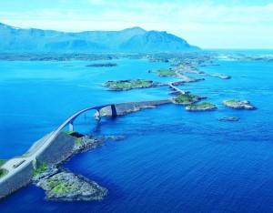 atlantic ocean road islands