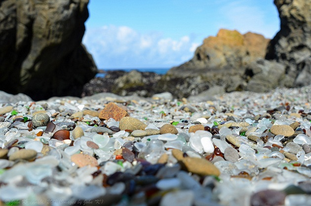 glass beach usa