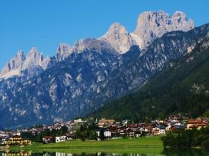 alp dolomites italy landscapes 1