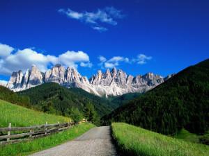 alp dolomites italy landscapes 2