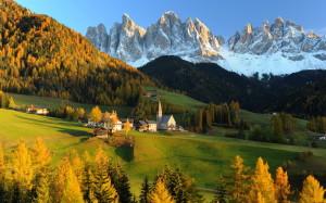 alp dolomites italy landscapes 3